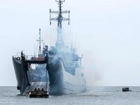 'ORP Gniezno' isimli Polonya savaş gemisi, tatbikat sırasında yara aldı