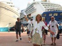 Kuşadası Ege Port Limanı'na 2019'un ilk 5 ayında 40 gemi yanaştı