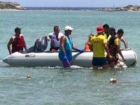 Gazimağusa'da tekne alabora oldu: 5 kişi kurtarıldı