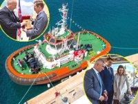 Med Marine'in inşa ettiği Vittoriosa römorkörü için vaftiz töreni düzenlendi