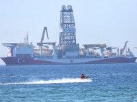 Yavuz sondaj gemisi, Antalya Körfezi'ne demir attı