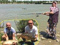 Balık tutkunları, Olta Balıkçılığı Turnuvası'nda buluştu