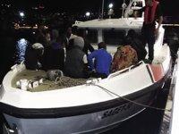 Kuşadası Körfezi'nde 40 düzensiz göçmen yakalandı