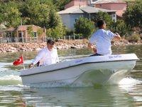İçme Köyü'nde tekne turları başladı