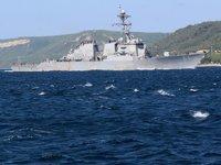 Rusya, Karadeniz'deki ABD savaş gemisini adım adım takip ediyor