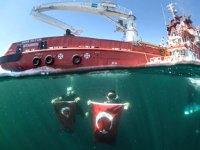 Nene Hatun gemisi, Kabotaj Bayramı'na özel seyir gerçekleştirdi