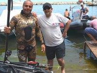 Tekirdağ'da Zıpkınla Balık Avı Şampiyonası heyecanı başladı