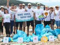 Doğa Dostu Araslar, Burgazada'da kıyı temizliği yaptı