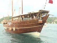 'Fath el Kheir' isimli Katar tanıtım yelkenlisi İstanbul'dan yola çıktı