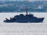 İtalyan ve Fransız savaş gemileri, Çanakkale Boğazı'ndan geçti