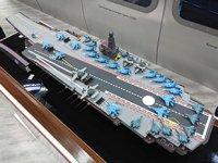 Rusya, yeni nükleer uçak gemisi projesi 'Lamantin'i tanıttı