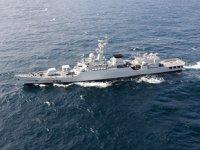 Çin, Sri Lanka'ya savaş gemisi hediye etti