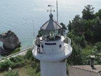 Tarihi deniz fenerinde dört kuşaktır görev yapıyorlar