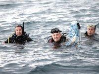 Bekir Pakdemirli, Çeşme'de dalış etkinliğine katıldı