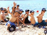 Kaş'ın çocukları denizle buluşturuluyor