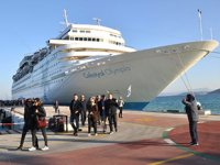 Türkiye limanlarına ilk 6 ayda 102 kruvaziyer gemisi yanaştı
