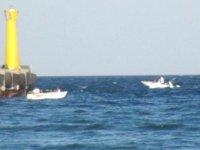 Marmara Denizi'nde tekne alabora oldu: 4 kişi kurtarıldı...