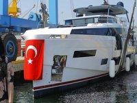 Sirena Marine, 'Sirena 88' isimli motoryatı denize indirdi
