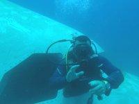 Saros Körfezi'ndeki 'batık uçak' sualtı turizmini canlandırdı