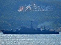 'Perekop' isimli Rus savaş gemisi, Çanakkale Boğazı'ndan geçti