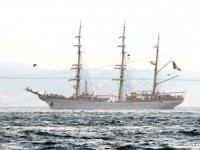 'Nava Scoala Mircea' isimli askeri eğitim gemisi, Sarayburnu'na demir attı