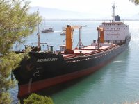 'Mehmet Bey' isimli gemi, Fethiye'de karaya oturdu