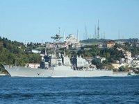 ABD, 'USS Porter' isimli savaş gemisini Karadeniz'e gönderdi