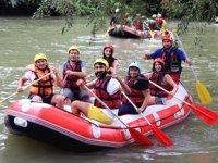 Melen Çayı'nda rafting turları yeniden başladı