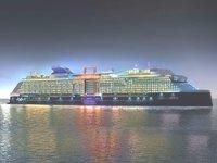 'Celebrity Apex' isimli kruvaziyer gemisi, Galataport'a gelecek