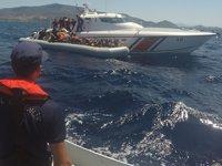 Sahil Güvenlik, Ege'de 22 bin düzensiz göçmen yakaladı