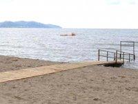 Ordu'da 'Engelsiz Plaj Projesi' tamamlanarak hizmete açıldı