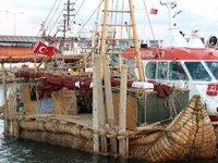 'Abora-IV' gemisi, Rumeli Feneri Limanı'na demir attı