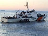 Müsellim Boğazı'nda 149 düzensiz göçmen kurtarıldı