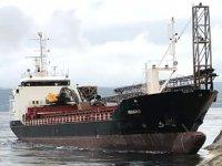 'Nidaro' isimli kargo gemisi, Norveç'te karaya oturdu