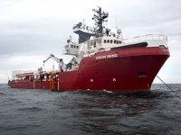 Ocean Viking gemisi, yanaşabileceği güvenli bir liman arıyor