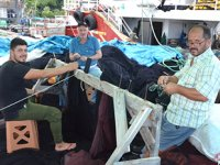 Karadenizli balıkçılar, hazırlıklarını sürdürüyor