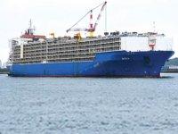 'NADA' isimli kargo gemisi, yeniden Türkiye'ye geldi