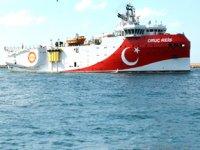 MTA Oruç Reis Gemisi, Akdeniz'e doğru yola çıktı