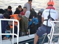 Ayvalık'ta 22 düzensiz göçmen yakalandı