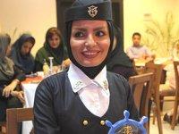Kaptan Rahele Tahmasebi Sarvestani, mesleğinin zorluklarını anlattı