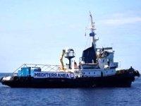 'Mare Jonio' gemisindeki düzensiz göçmenler karaya çıktı