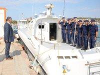 Balıkesir Valisi Ersin Yazıcı, SGK Kuzey Ege Grup Komutanlığı'nı ziyaret etti