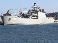 TCG Sancaktar, Varna Limanı'na demir attı