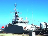 TCG KİLİMLİ Savaş Gemisi HOPAPORT'u ziyaret etti