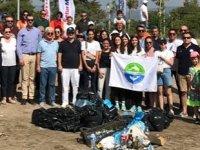 TURMEPA Antalya Şubesi, Finike sahillerinde çevre temizliği yaptı