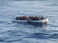 Sisam Adası'nda düzensiz göçmen botu bulundu