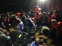İzmir'de 149 düzensiz göçmen yakalandı