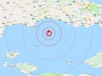 İstanbul'da 5.8 büyüklüğünde deprem meydana geldi
