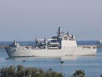 Denizciler, TCG Sancaktar ile Samsun'a çıkarma yaptı