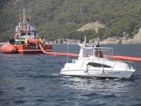 Antalya'da deniz kirliliğine karşı acil müdahale tatbikatı yapıldı